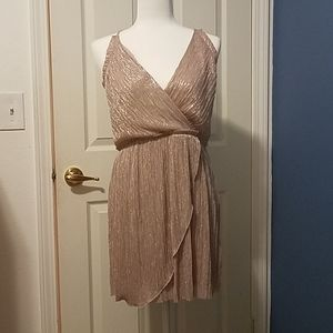 Special occasion sparkly Express wrap dress